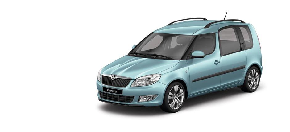 Roomster auto Kreta