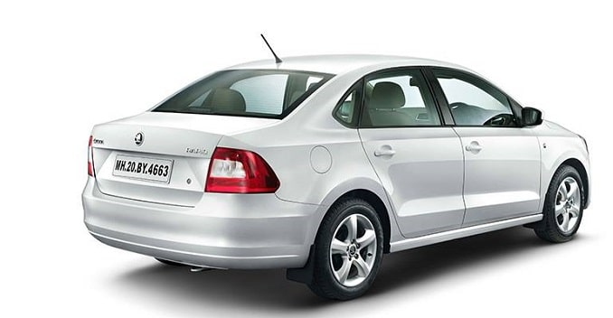 Skoda Rapid back auto Kreta