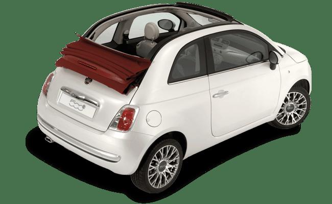 Fiat 500 Cabrio auto Kreta