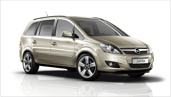 Opel Zafira auto Kreta