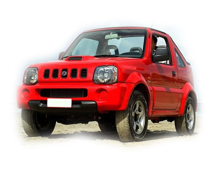 Suzuki Jimny auto Kreta