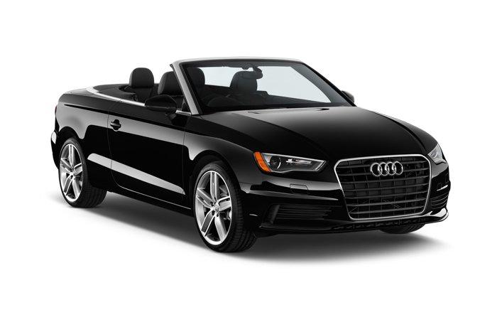 Audi 3 TSFI schwarz auto Kreta