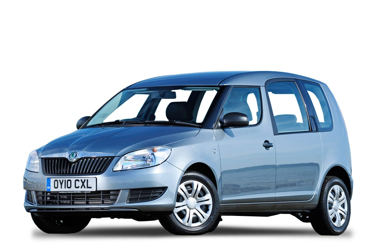 Skoda Roomster Blau auto Kreta