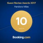 Unsere Bewertung auf Booking .com